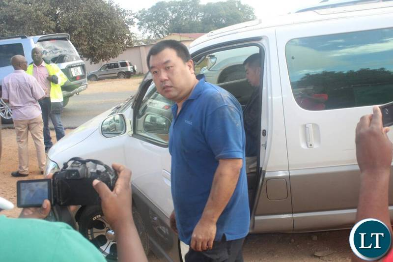 Chinese Man caught driving GRZ Car