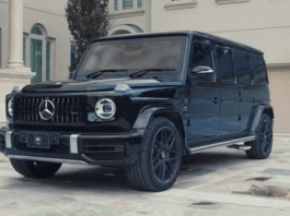 Inkas presents armored Mercedes-AMG G63 stretch limo version