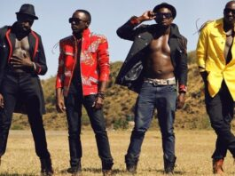Polycarp of Sauti Sol and wife has welcomed their first baby