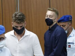 US pair sentenced to life for the murder an Italian policeman