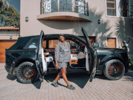 Shauwn Mkhize (MaMkhize) shows off her R16 million Birthday gift